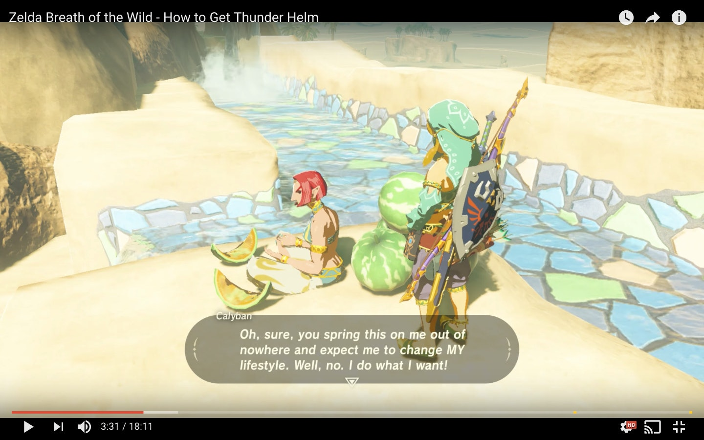Zelda: Breath of the Wild' Thunder Helm Guide: How to get