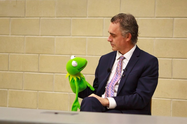 Dr. Jordan Peterson's voice is often likened to Kermit the Frog. It's a comparison he embraces.