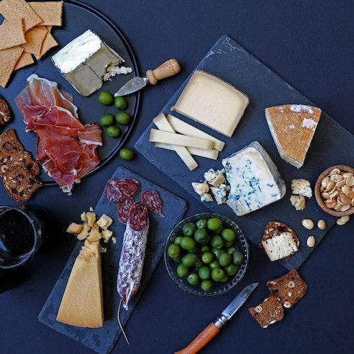 Murray's Cheese platter
