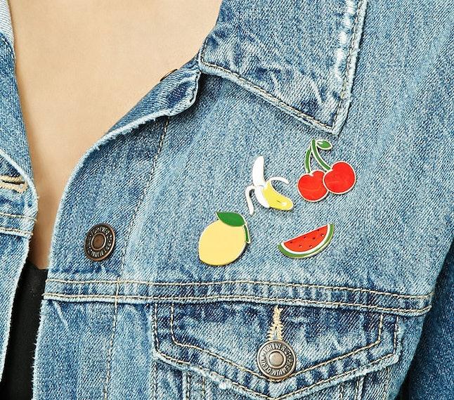 Forever 21 Fruit Pin Set