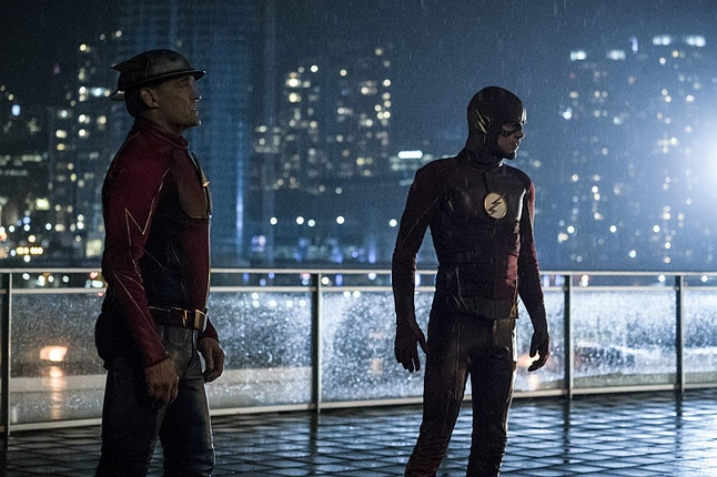 Jay Garrick and Barry Allen on 'The Flash'