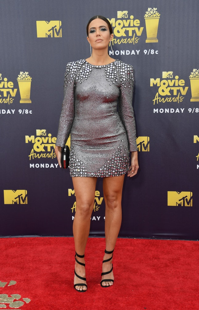 Mandy Moore at the 2018 MTV Movie and TV Awards