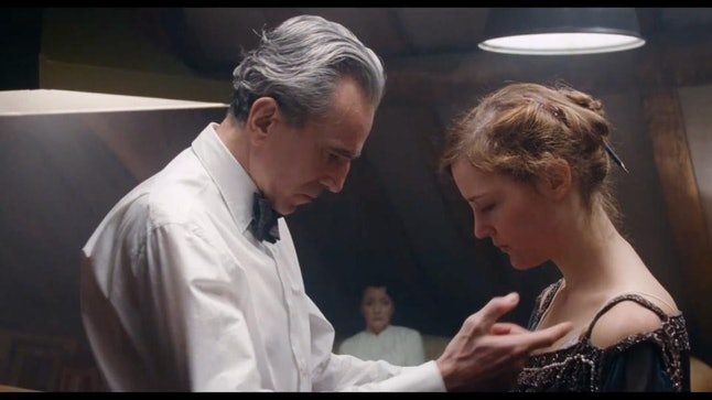 Daniel Day-Lewis and Vicky Krieps in 'Phantom Thread'