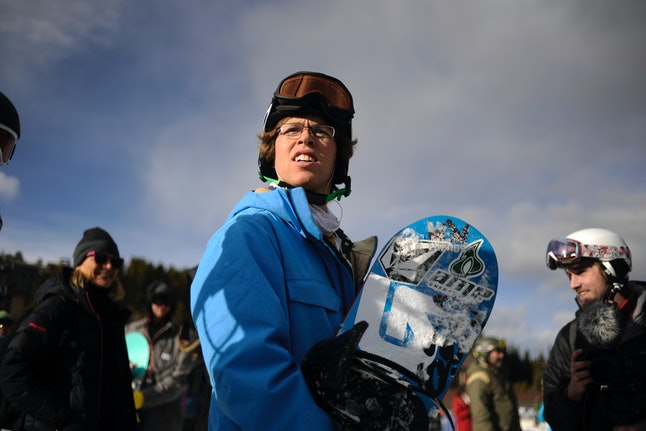 Kevin Pearce prepares to hit the slopes for the first time since suffering a traumatic brain injury.