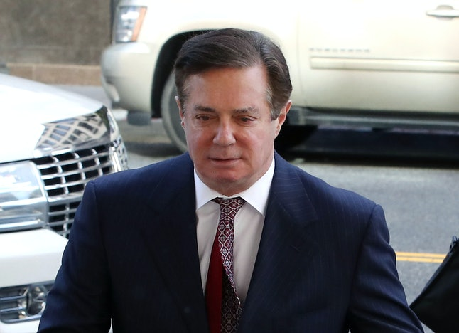 Paul Manafort arrives at federal court in June.