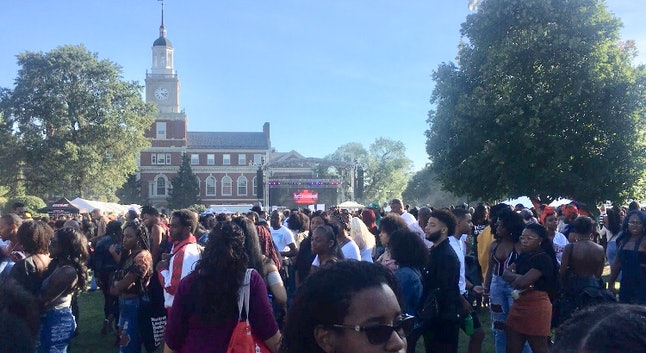 Howard University Yardfest is one of the most popular events during homecoming weekend.
