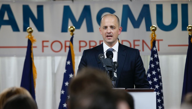 Evan McMullin, a Republican House staffer, is mounting an independent bid.