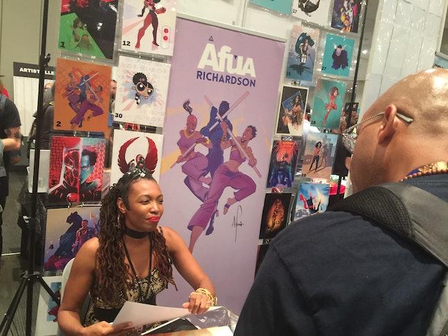 Comic artist Afua Richardson