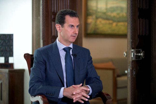 Syrian President Bashar al-Assad during a 2016 interview