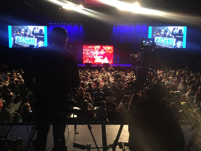 Thousands gathered in Miami for the launch of People Power, with tens of thousands more watching from home via live-stream.