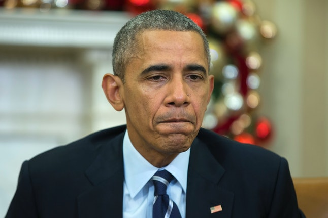 Obama gives a televised speech on Dec. 3.