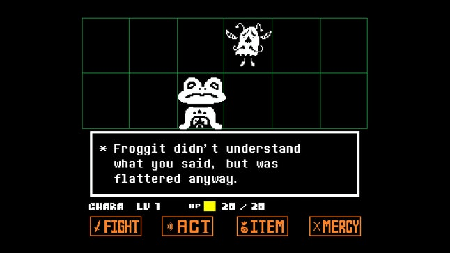 Whether you spare the inhabitants of the underground or treat them like the enemies you would in a traditional RPG, 'Undertale' doesn't offer you easy answers.