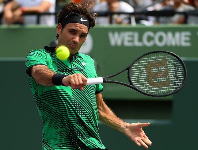 Tennis pro Roger Federer was named the most marketable sports person of 2016.
