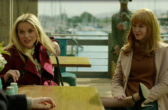 Reese Witherspoon and Nicole Kidman in 'Big Little Lies'