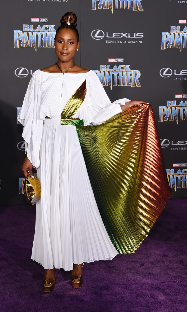 Issa Rae at the Los Angeles World Premiere of 'Black Panther'