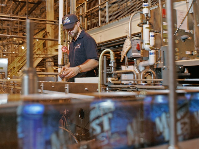 Get an inside peek at how they make Miller Beer.