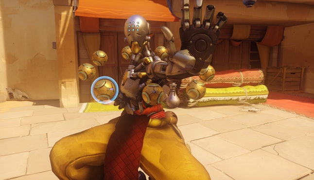 Alexa said Zenyatta (pictured above) is the best 'Overwatch' character, but we can't help but think she's more the Bastion type.