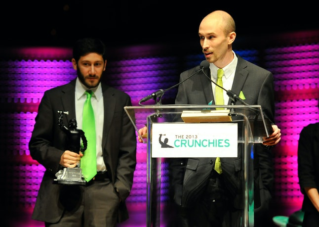 Alan Schaaf at the Crunchies awards in 2014.
