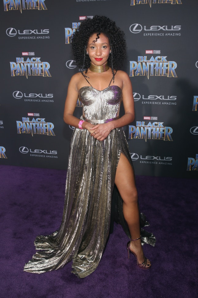 Nabiyah Be at the Los Angeles World Premiere of 'Black Panther'