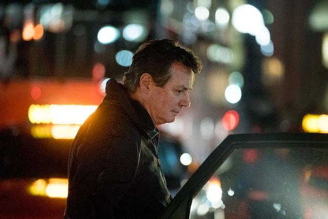Paul Manafort arrives in Washington, D.C., in late December.