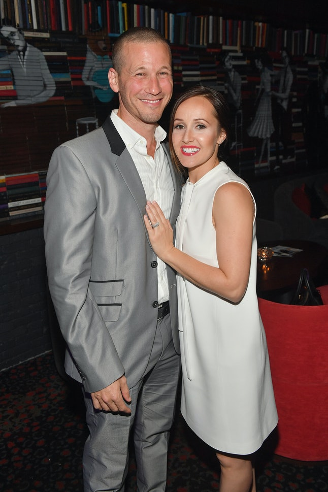 Ashley Hebert and J.P. Rosenbaum attend the premiere of their new show 'Dr. Miami.'