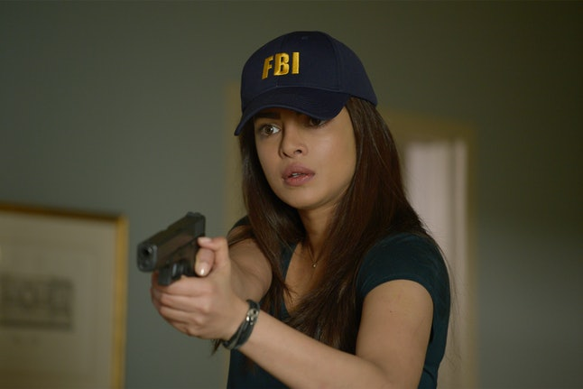 Priyanka Chopra as Alex Parrish in 'Quantico'