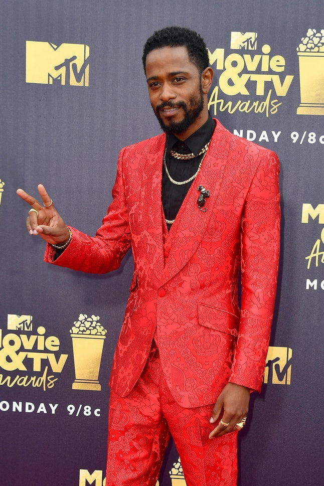 Lakeith Stanfield at the 2018 MTV Movie and TV Awards