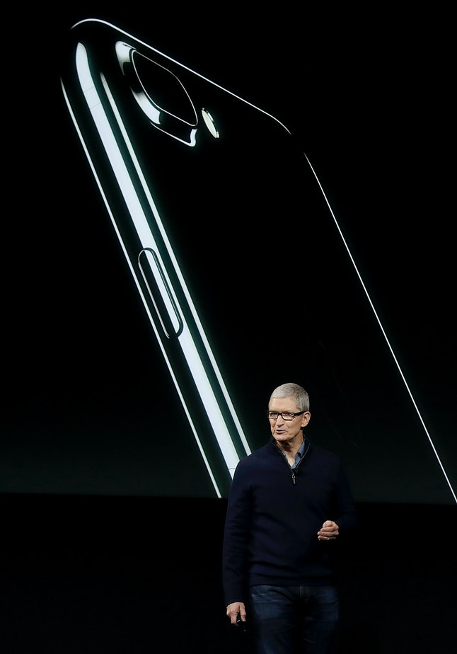 What will Tim Cook unveil in 2017?