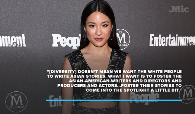 Constance Wu at the Entertainment Weekly and People Upfronts