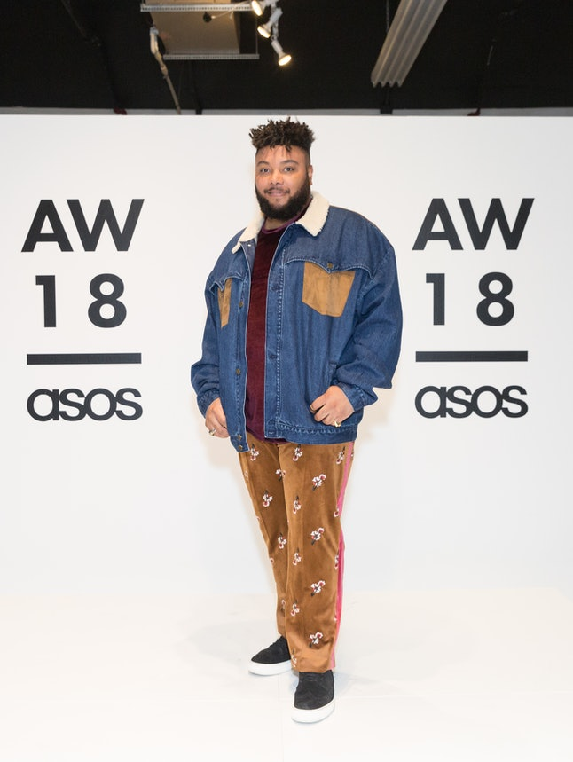Campbell at the Asos presentation