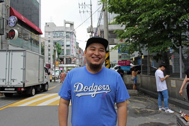 Baek Jang-ji is a guesthouse owner in Seoul, but he's originally from China.