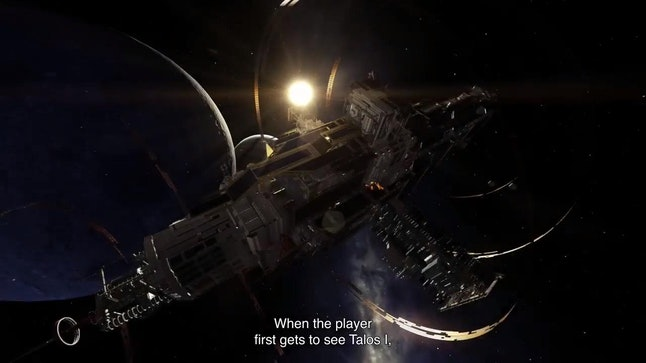 The entirety of 'Prey' takes place aboard (and around) the massive Talos I space station.