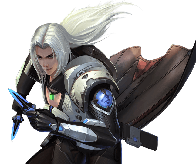 Genji is looking awfully Sephiroth