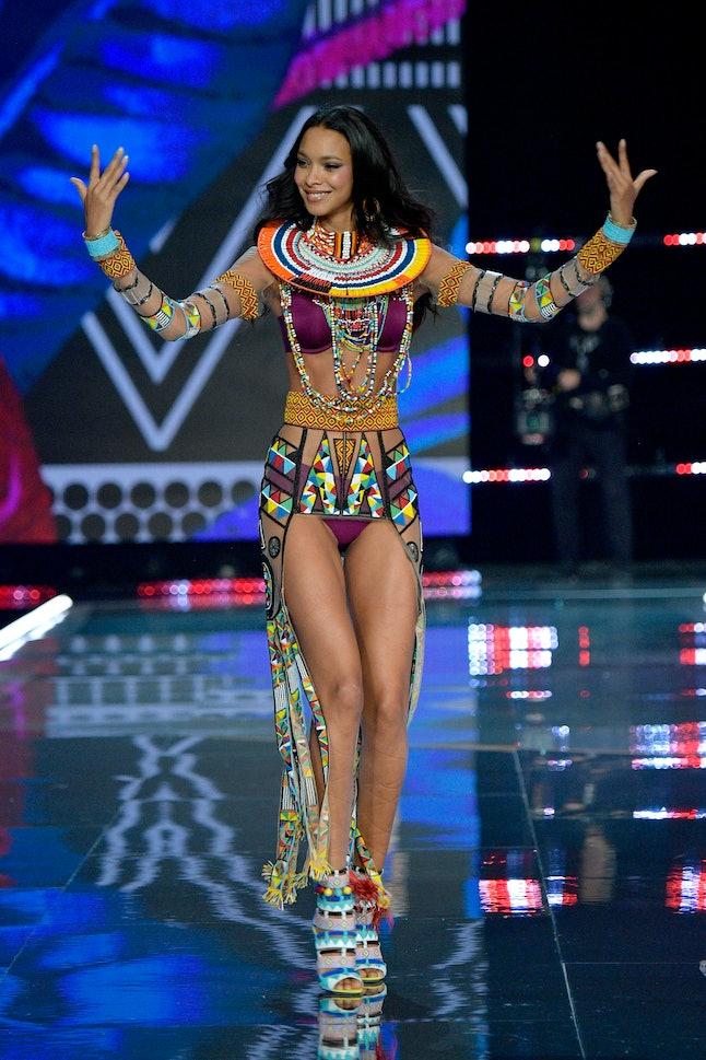 Lais Ribeiro at the 2017 Victoria's Secret Fashion Show