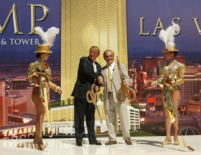 Donald Trump in Las Vegas in 2005.