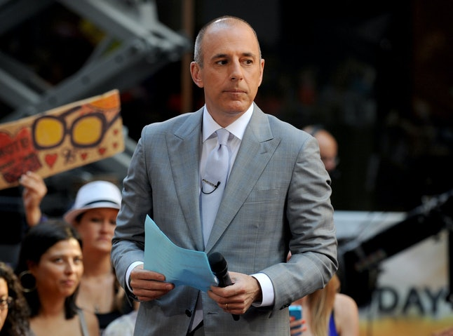 File Photo by: Dennis Van Tine/STAR MAX/IPx 2013 5/31/13 Matt Lauer on the set of The Today Show.