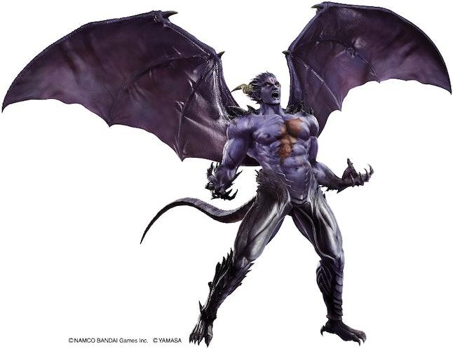 Devil Kazuya strutting his stuff