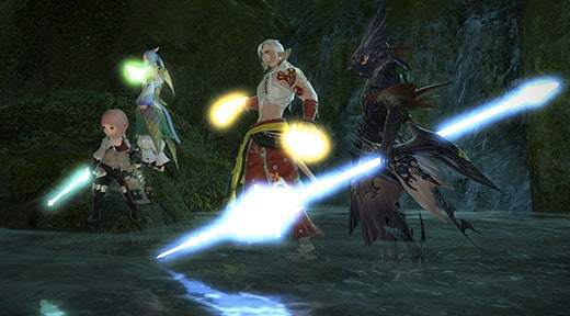 Three Warriors of Light enter. All may wipe.