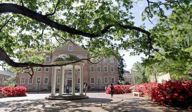 UNC Chapel Hill campus.