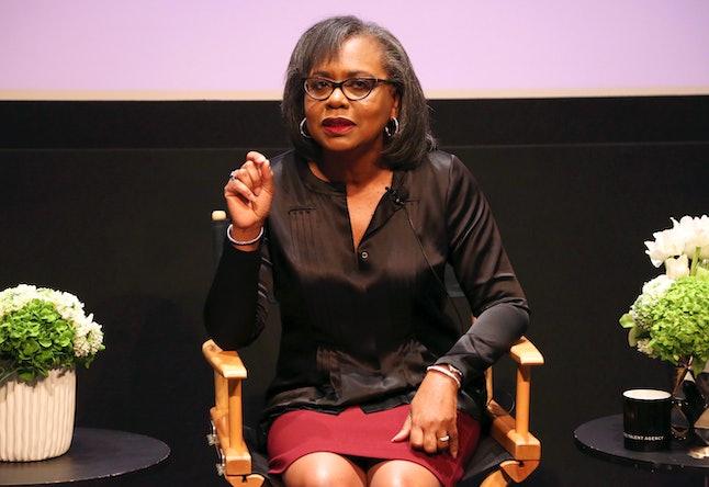 Anita Hill in Dec. 2017