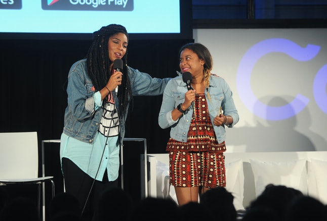 Phoebe Robinson and Jessica Williams host '2 Dope Queens.'