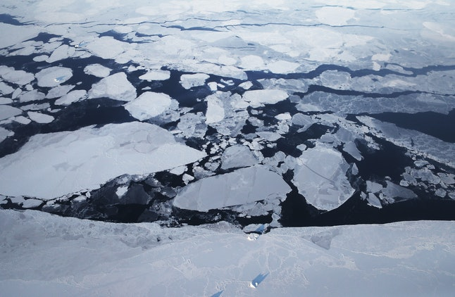NASA scientists and the National Snow and Ice Data Center say Arctic sea ice appears to have reached its lowest maximum wintertime extent ever recorded.
