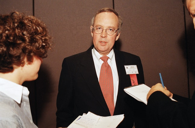 Whitewater special prosecutor Kenneth Starr in 1997