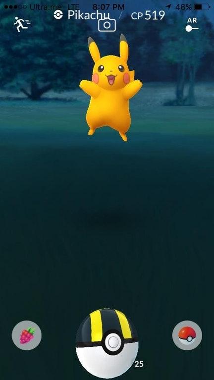 It even looks like it's jumping for joy.