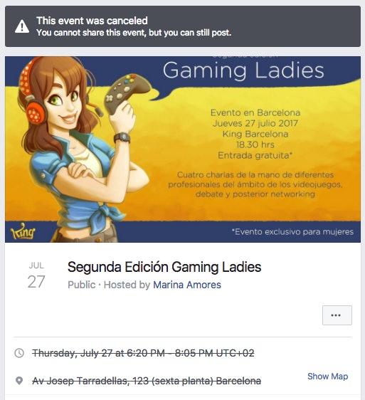 Source: Segunda Edición Gaming Ladies/Facebook