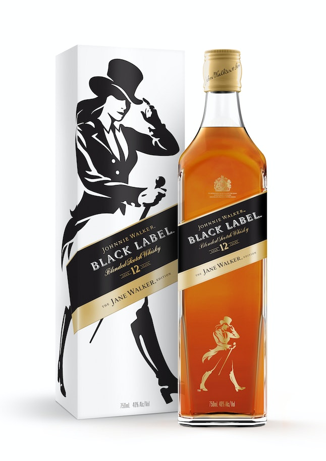 The new Jane Walker limited edition scotch bottles will be available in March.