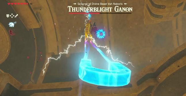 Part two of the Thunderblight Ganon battle