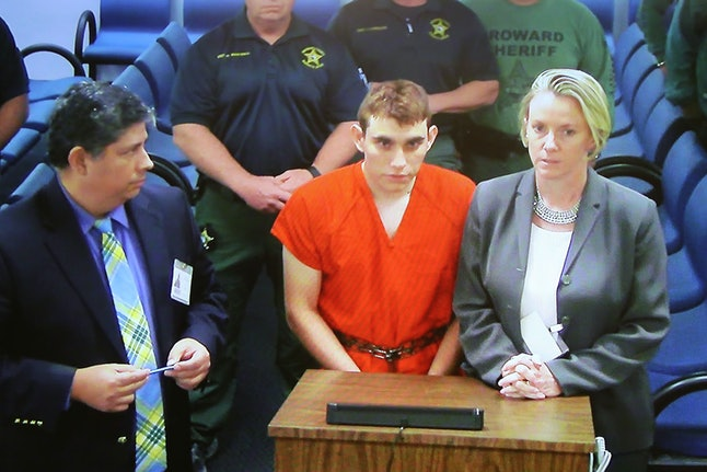 Nikolas Cruz, 19, appears in court Thursday — a day after he allegedly used a legally purchased assault-style weapon to kill 17 people at Marjory Stoneman Douglas High School in Parkland, Florida.