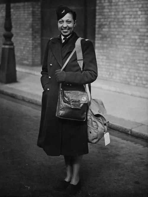 Josephine Baker in France
