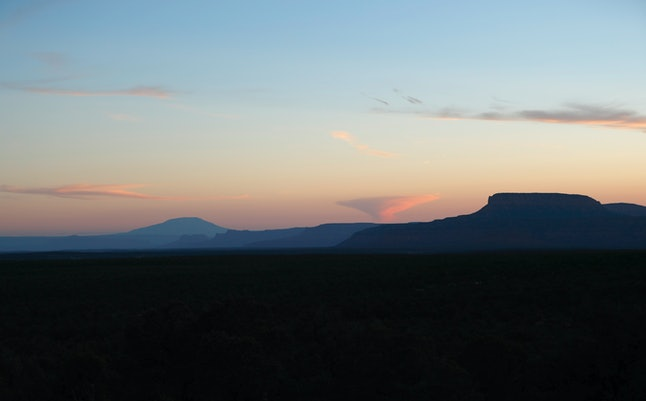 A view of Bears Ears National Monument in Utah